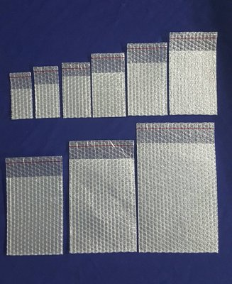【Jason包裝網】6號 自黏氣泡袋(A三)L170*W120mm*200pcs/照夾鏈袋尺寸/緩衝包材/泡泡袋/保護袋