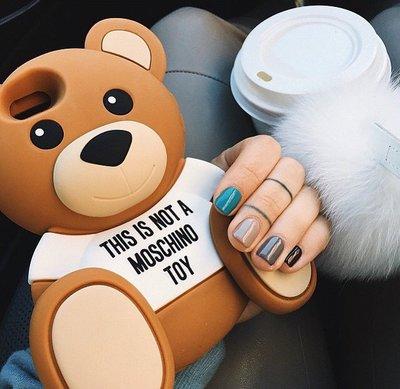 iphone6 手機殼 MOSCHINO設計師Jeremy Scott ''Ready to Bear''系列