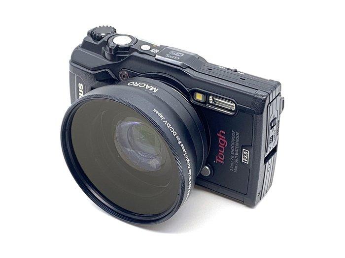 《快速出貨》58mm 0.45x 廣角鏡 近攝鏡 Macro 無暗角 多層膜 鏡頭 18-55mm LX3 Gx1