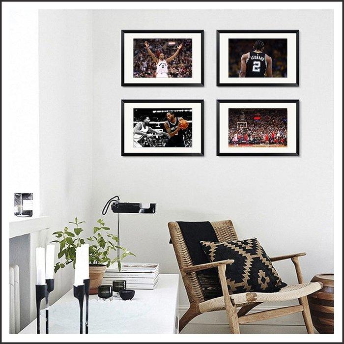 日本製畫布海報 NBA 雷納德 Kawhi Leonard 可愛 嵌框畫 掛畫 裝飾畫 @Movie PoP #