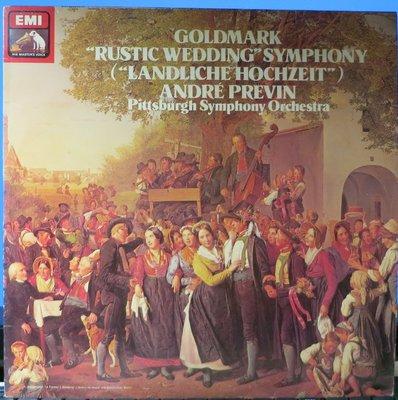 黑膠 Previn 普列文 Goldmark : Rustic Wedding Symphony 英HMV