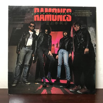 晨雨黑膠【西洋】美版, Promo版/Ramones – Halfway To Sanity (1987)
