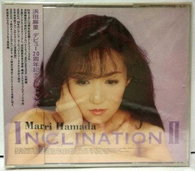 浜田麻里 Mari Hamada 20周年記念 INCLINATION II 2CD 【日版全新未拆】