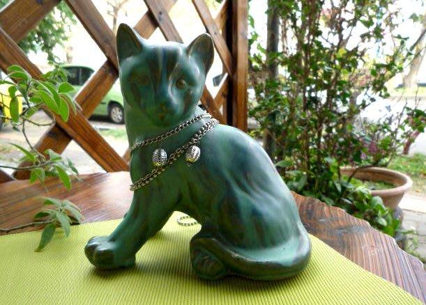 小歐坊~設計師款 波斯貓 /寵物造型/幸運物/陶瓷擺飾/禮品首選HG-5223