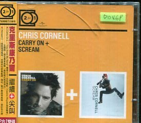*愛樂二館* CHRIS CORNELL / CARRY ON+SCREAM 全新 D0469 (殼破)