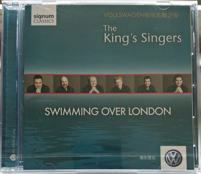 The King's Singers - Swimming Over London 全新