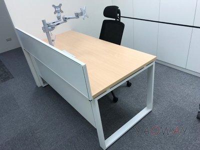 【耀偉】OTTO系統工作站 (辦公桌/辦公屏風-規劃施工-拆組搬遷工程-組合隔間-水電網路)14