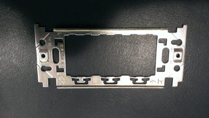 DIY水電材料 不鏽鋼蓋板專用鐵片/開關蓋板/插座蓋板/ST蓋板鐵片