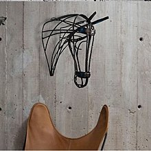 Loft工業風格鐵藝壁飾金屬動物壁掛牆面裝飾掛件牆飾牆掛