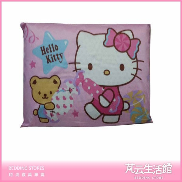 KITTY乳膠枕~ 兒童標準乳膠枕~布套可拆洗~多款選擇【芃云生活館】