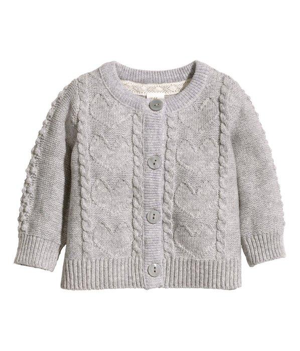 *小豆仔的屋Dou Dou House*歐洲瑞典H&M童裝/嬰幼兒麻花針織衫毛衣外套(現貨+預購)