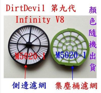 【現貨副廠品】Dirt Devil 第九代 Infinity V8 M5020-1吸塵器 HEPA濾網 排氣網集塵桶濾網