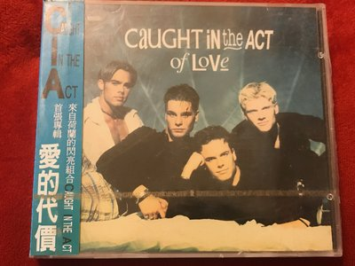 Caught In The Act-愛的代價-全新未拆