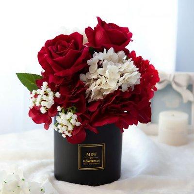 仿真花 仿真盆栽 仿真玫瑰高端大氣簡約輕奢花藝擺設擺件客餐廳桌家居飾品新婚慶禮 良品優舍