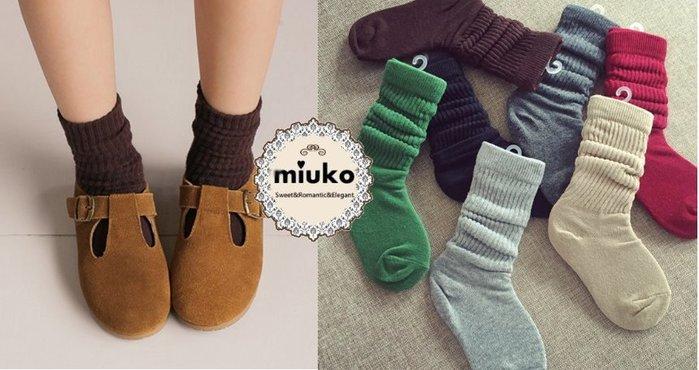 miuko BABY款韓國韓版嬰幼兒兒童男女寶寶男童女童 中大童 秋冬新款 羅紋 中長筒 襪子 親子襪 媽媽襪-現貨