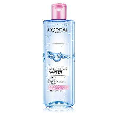 【現貨免運】L'OREAL Paris 巴黎萊雅 三合一卸妝潔顏水_保濕型 400ml
