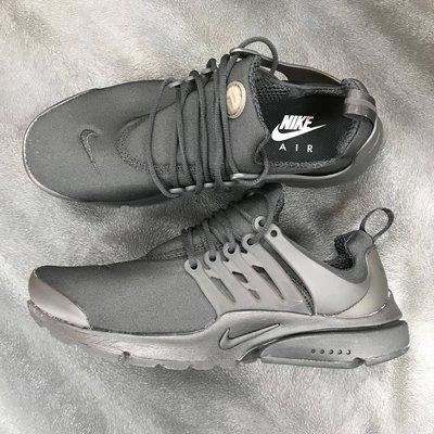 三葉草之家 Nike Air Presto Essential 全黑 魚骨 帆布 慢跑鞋 電繡 男 848187-011 台北市
