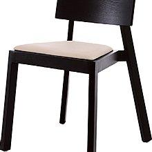 8號店鋪 森寶藝品傢俱 b-10品味生活 餐椅系列767-24 (黑色)  833實木餐椅