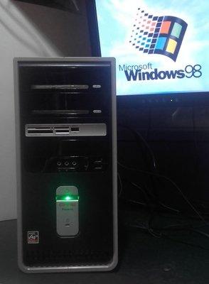 【窮人電腦】自組Compaq康柏Windows 98遊戲或工業主機出清!雙北桃園可親送!外縣可寄!