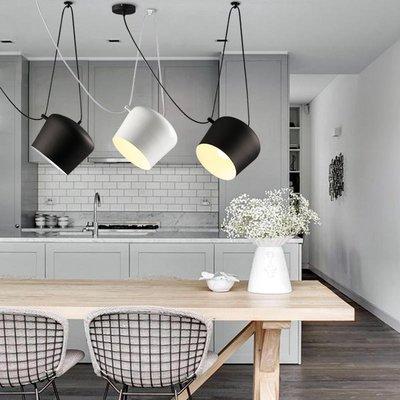 【德興生活館】簡約創意個性設計餐廳吧臺咖啡廳櫥窗鋁吊燈 限時促銷