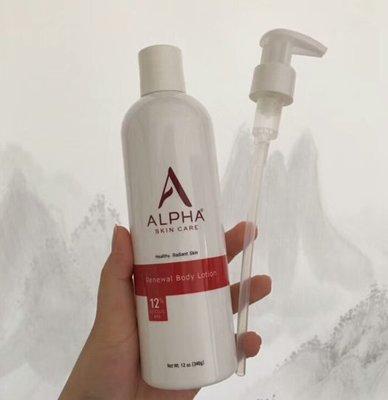 美國藥房品牌Alpha Hydrox果酸身體乳