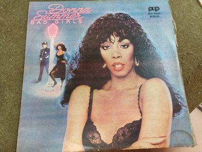 長春舊貨行 拍譜唱片 HOT STUFF 黑膠唱片 唐娜·桑默 拍譜唱片 1979年 (Z22) 2片唱片