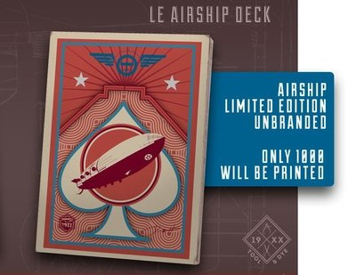 【USPCC撲克】unbranded Flight airship Playing Cards