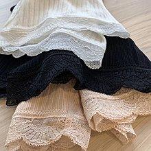 C Select Shop ♥ 防走光~日本單 短裙必入單品 無縫一體設計 蕾絲款安全褲 內搭褲 衣櫥必備