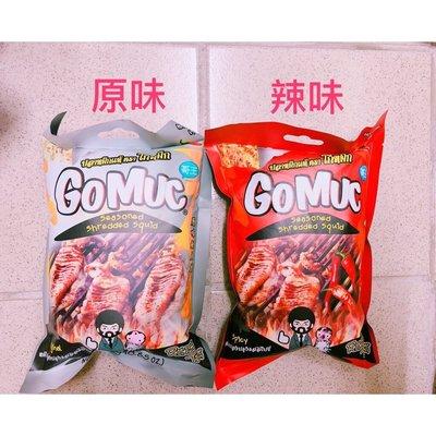 泰國 GoMuc 哥王 魷魚絲 24g  原味 辣味