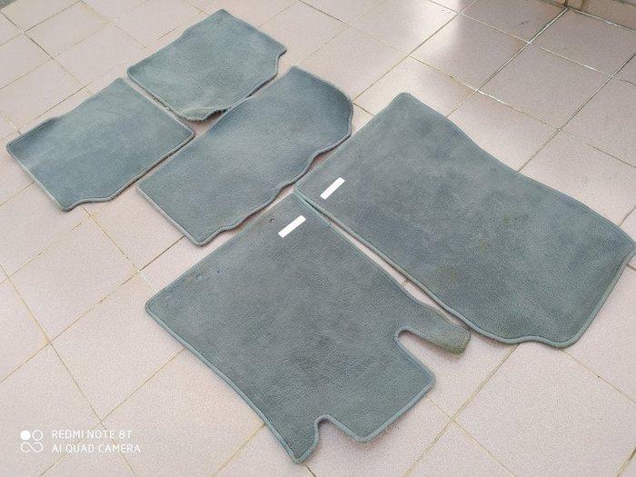 賓士 W140 原廠德國製 絨毛腳踏墊 地毯 S280 S320 S500 S600 德祥行