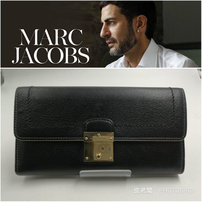 【皮老闆】近全新真品 MARC JACOBS 皮夾 長夾