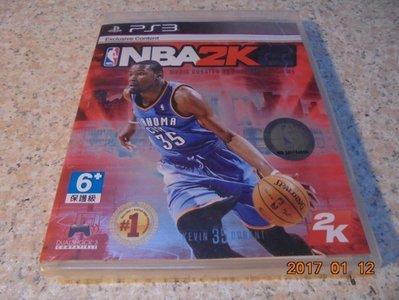 PS3 NBA2K15/NBA 2K15 美國職業籃球2K15 中文版 直購價600元 桃園《蝦米小鋪》