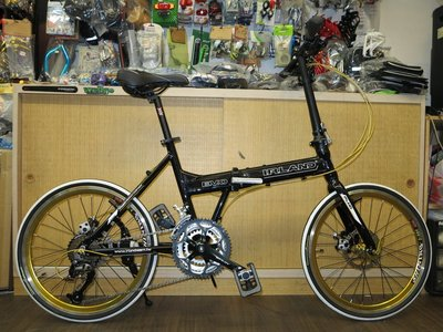 【愛爾蘭自行車】IRLAND EVO 20吋 27速 451輪組 碟煞 鋁合金 shimano 摺疊車 高雄 冠鑫自行車