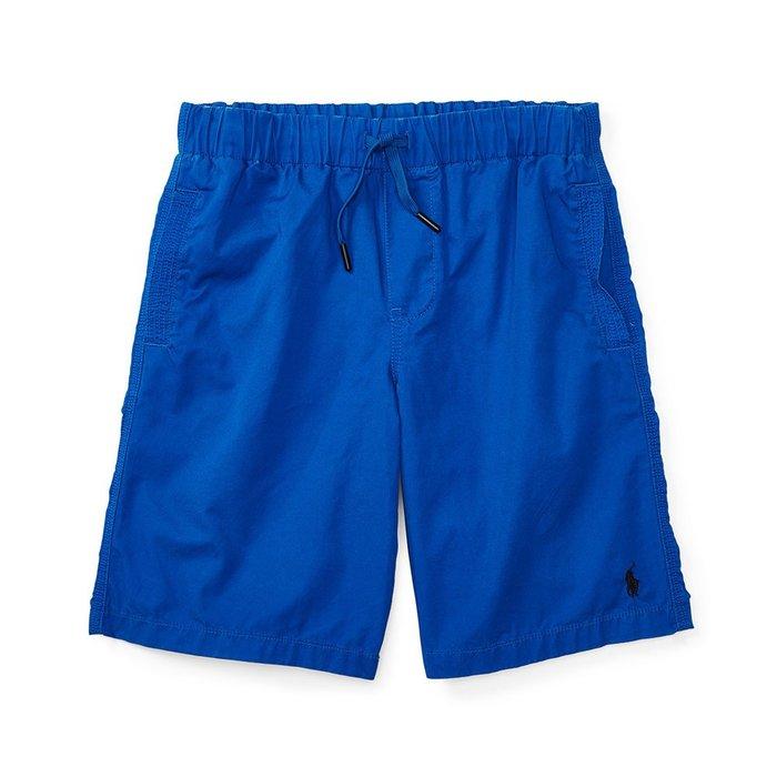 美國百分百【全新真品】Ralph Lauren 抽繩短褲 休閒褲 褲子 Polo RL 小馬 寶藍 XS S號 I159