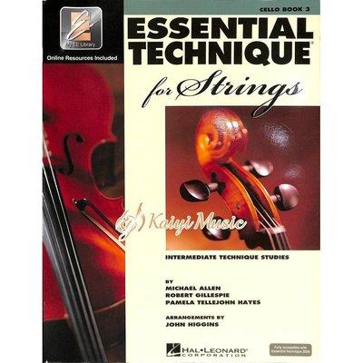 ♫Kaiyi Music♫ Essential elements cello book 3 大提琴教材 樂譜