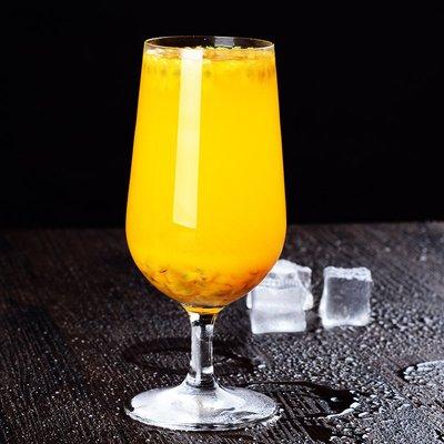 威士忌杯 玻璃杯 高腳杯無鉛水晶西餐廳水杯創意多功能玻璃果汁杯飲料杯奶茶杯子家用商用