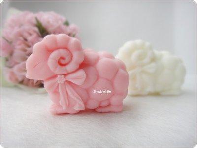 《魔法泡泡Simplywhite》手工皂模/矽膠模/土司模/香皂模/吐司模- A10063 甜蜜羊寶寶