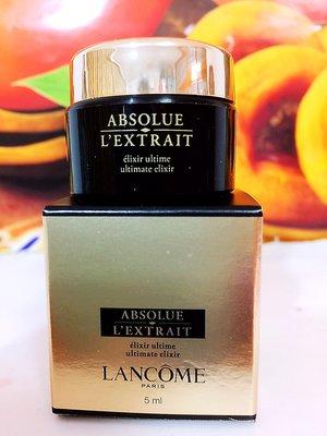 LANCOME 蘭蔻絕對完美黑鑽奧秘霜 5ml 全新百貨公司專櫃貨盒裝