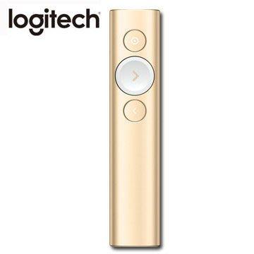 【鳥鵬電腦】Logitech 羅技 Spotlight 無線簡報遙控器 香檳金 快充 藍芽 2.4G 雙重連線 簡報器