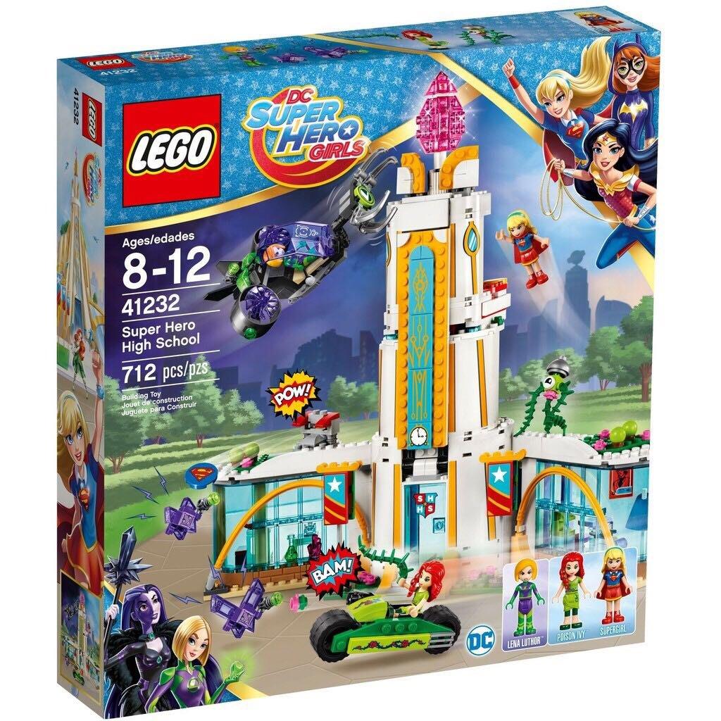 LEGO 41232 樂高 積木 Super Hero Girls 超級英雄女孩 超級英雄高中