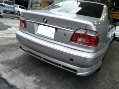 DJD19081313 BMW E39 5系列 95~99年 類01年式樣 紅白晶鑽 大光柱尾燈一組