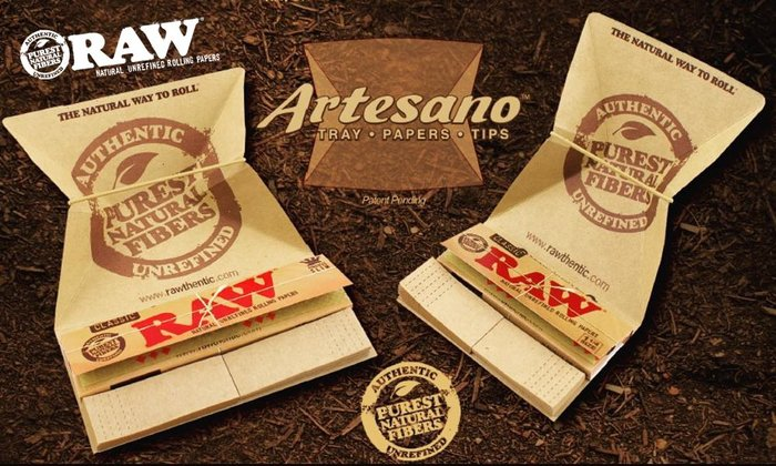 GOODFORIT / 西班牙 RAW Artesano King Size Slim捲煙組