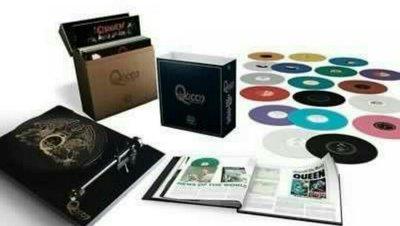 QUEEN The Studio Collection 180g Colored Vinyl  18LP BOXSET