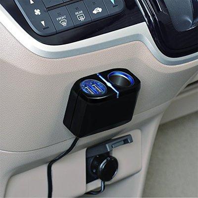 SEIWA 延線型單孔雙USB插座 F275