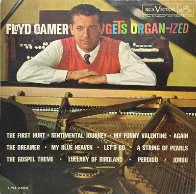 {夏荷美學生活小舖}西洋美版黑膠唱片Floyd Cramer Gets Organ-ized
