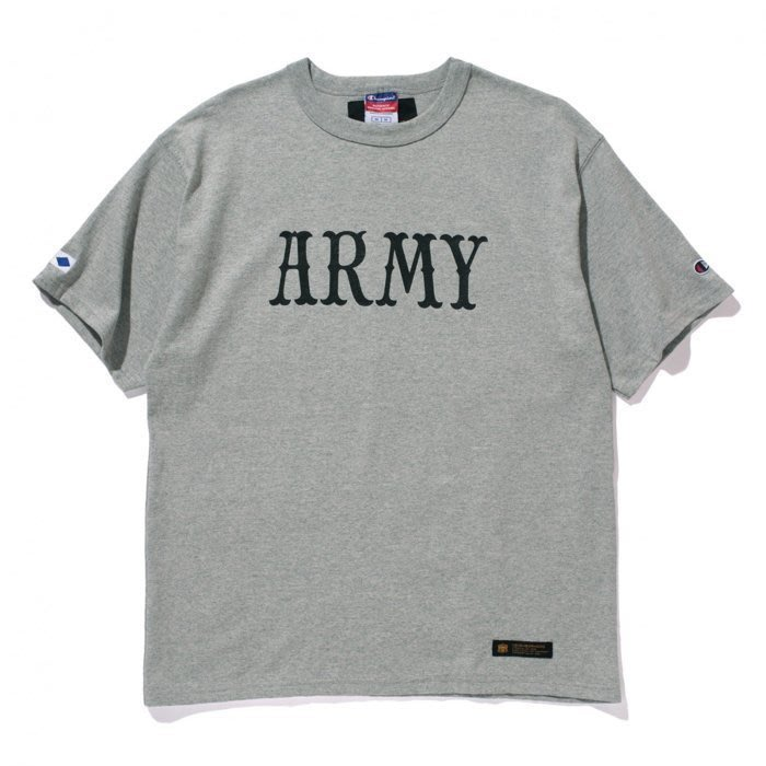 【QUEST】現貨 MADNESS x NEIGHBORHOOD CHAMPION ARMY TEE 灰色 余文樂