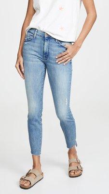 【代購】新品 MOTHER Looker Crop 鬚邊 彈力 牛仔褲 有23