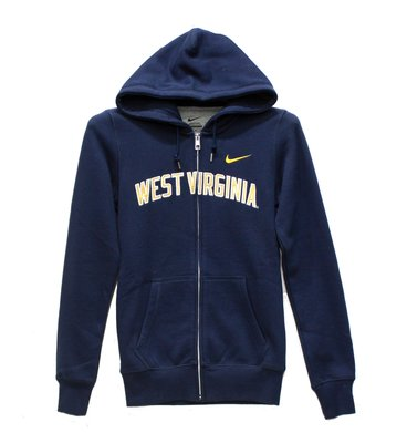 Nike West Virginia Full Zip Hoodie 女連帽夾克 XS size