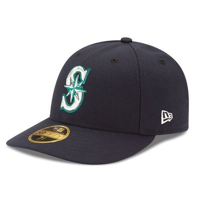 Seattle Mariners New Era Navy Authentic 59FIFTY 球帽