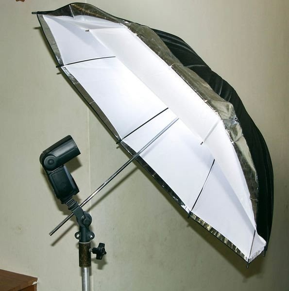 呈現攝影-柔光傘-透白兩用傘33吋 直徑84cm 透射/反射傘 專業人像外拍 棚拍 離機閃 控光傘